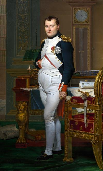 «Император Наполеон в своем кабинете в Тюильри». Худ. – Ж.-Л. Давид