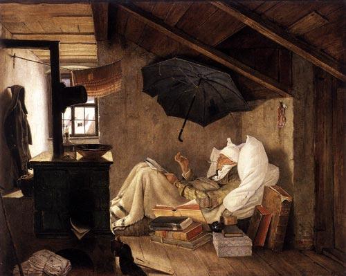 Карл Шпицвег. «Бедный поэт». Фото: Wikimedia