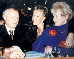 Анатолий Собчак со своей второй семьёй