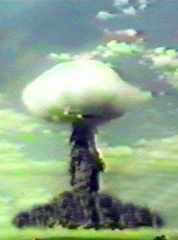 Взрыв на Тоцком полигоне, 1954 год. wikimedia