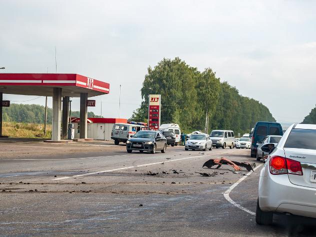 Восемь погибших вмаршрутке: шофёр  под Калининградом выехал на«встречку»
