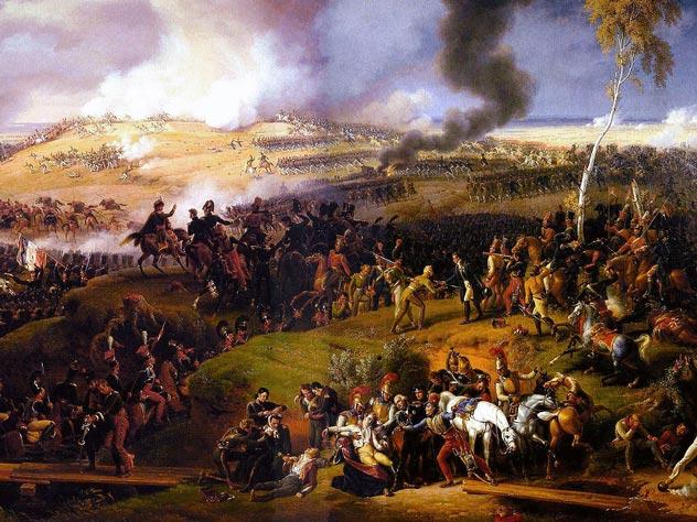 Картина Л.-Ф. Лежена «Бородинское сражение»