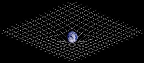 К теории гравитации: так массивное тело искривляет пространство вокруг себя. 3D-модель. Johnstone / wikimedia