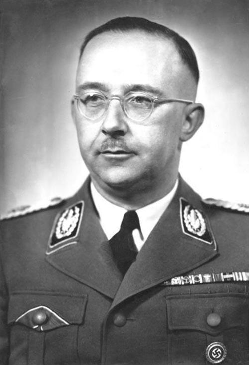 Генрих Гиммлер. wikimedia / Friedrich Franz Bauer
