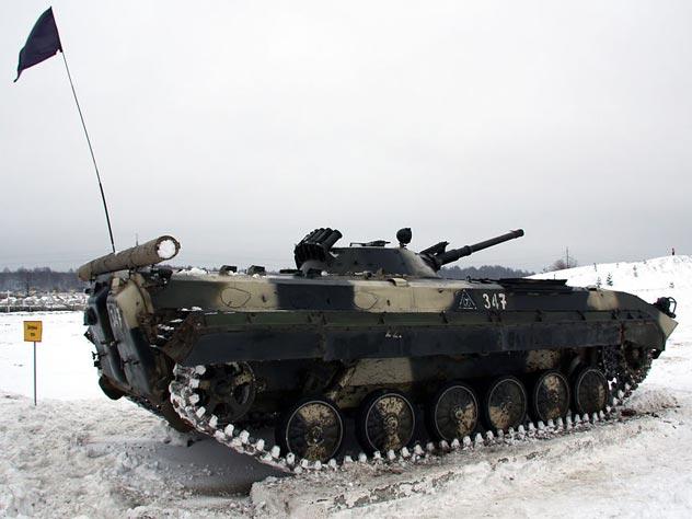 И по снегу, как по шоссе, БМП-1 ничего не боится. Фото: Wikimedia.org
