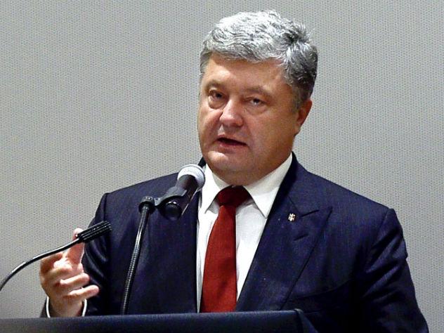 Порошенко считает государство Украину космической державой