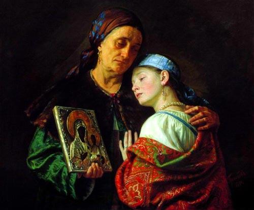 С. Грибков «Благословение на свадьбу»