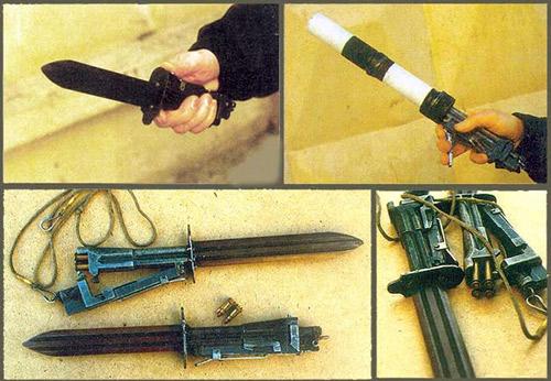 Стреляющий нож «Хамелеон» (фото без лицензии на право использования)