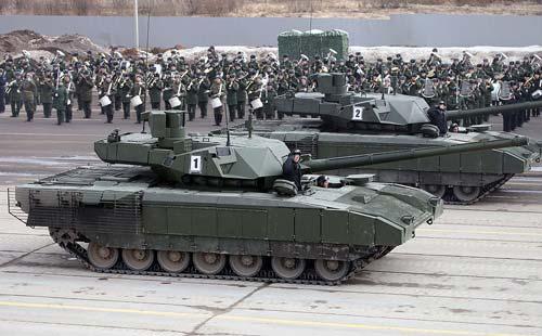 Танк Т-14 «Армата» на Параде Победы. 2015 год. wikipedia