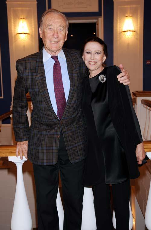 Родион Щедрин и Майя Плисецкая в 2009 г. globallookpress.com