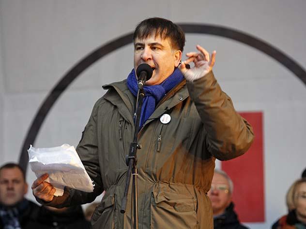 Михаил Саакашвили: «Порошенко— это пиво»