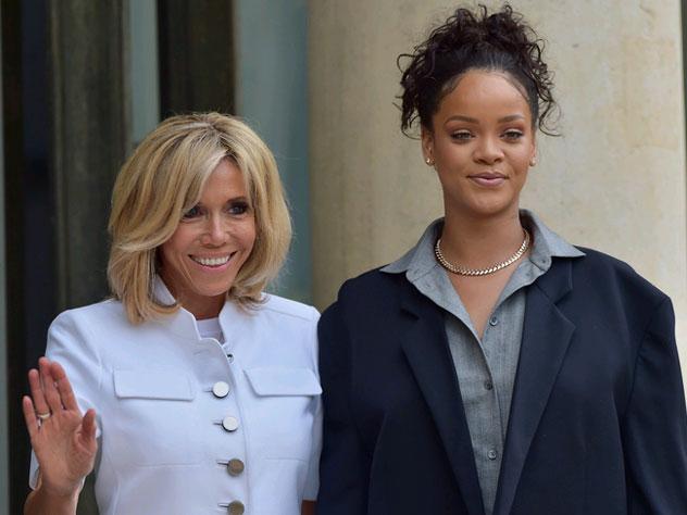 64-летняя первая леди Франции угодила в 10-ку самых элегантных женщин года