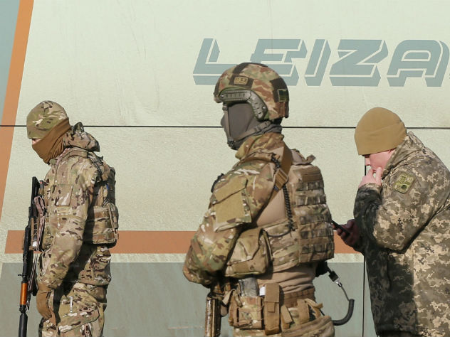 128-я бригада ВСУ выведена изДонбасса вполном составе
