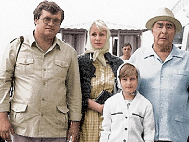 Впсихушку угодила внучка Брежнева