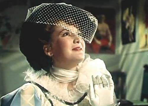 Кадр из фильма «Борец и клоун», 1957 год