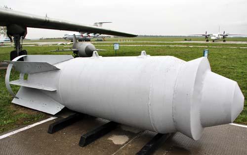 Авиабомба ФАБ-9000 М54. wikimedia