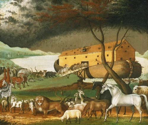 Эдвард Хикс «Ноев ковчег». wikimedia