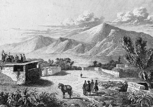 «Вид на Малый и Большой Арарат с деревни Сирбаган», 1838 год. wikimedia