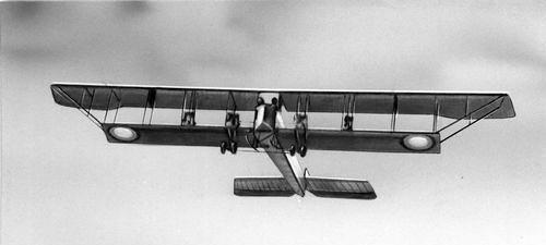 С-22 «Илья Муромец» в полете. Источник: wikipedia.org