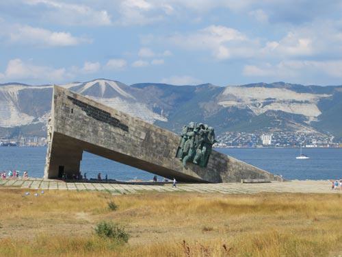 Памятное место высадки морского десанта 4 февраля 1943 г. на «Малую землю». Источник: wikimedia.org