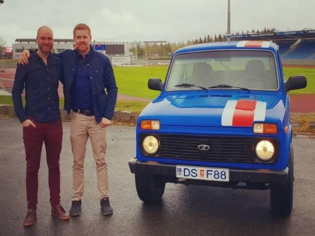 Болельщики из Исландии добрались до Волгограда на «Ниве»