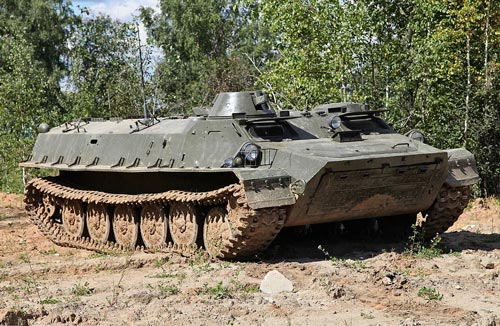 Многоцелевой бронетранспортер МТ-ЛБ. Фото: wikipedia.org