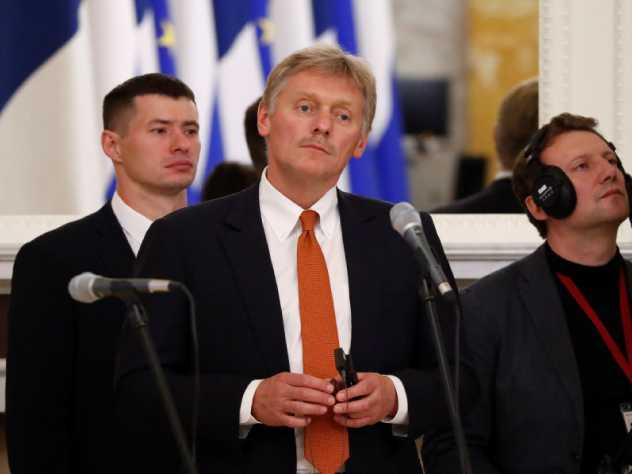 Дмитрий Песков остался на посту кремлевского пресс-секретаря
