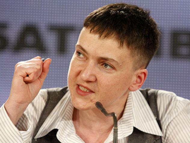 Надежда Савченко сейчас проходит обвиняемой по делу о подготовке госпереворота