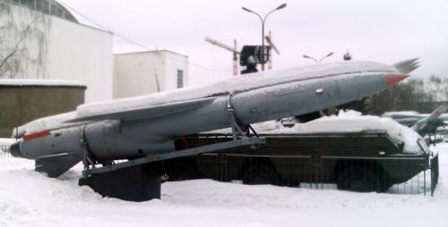 Противокорабельная крылатая ракета П-5 в экспозиции Центрального музея Вооруженных Сил, Москва. Фото: wikipedia.org