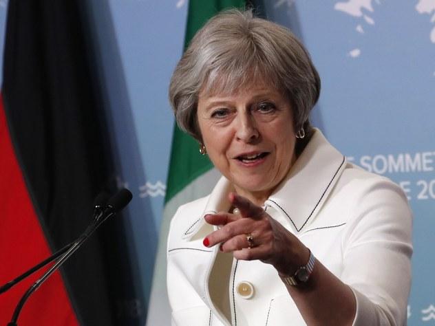 Тереза Мэй назвала условие возвращения России в G7