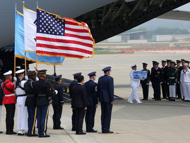 КНДР вернула США останки американских военных