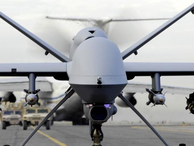 Таинственные дроны расстреляны над российской базой в Сирии