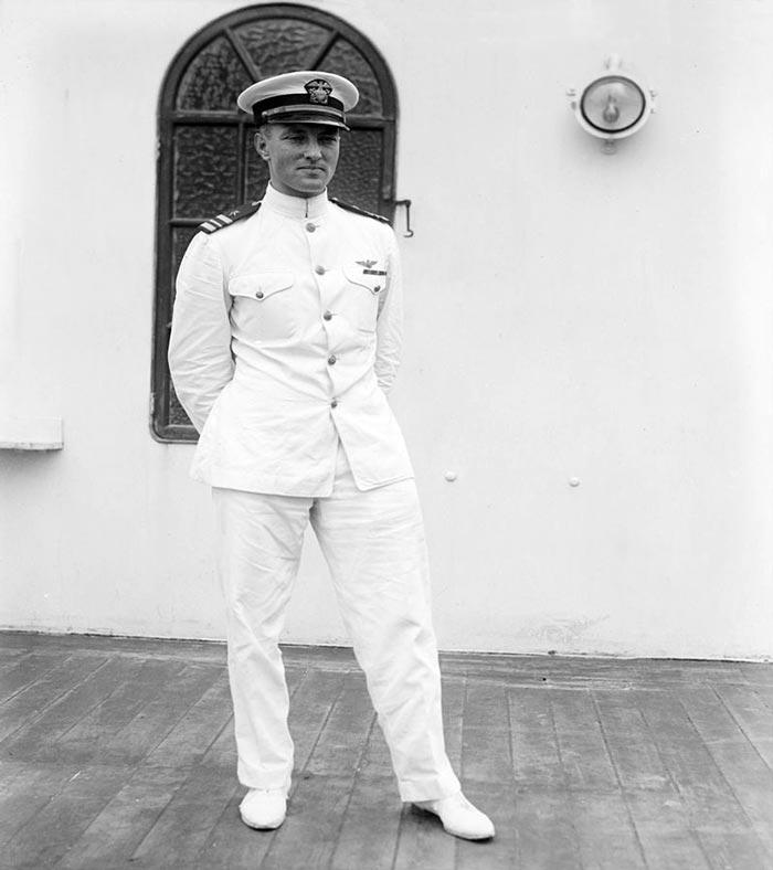 Ричард Ивлин Берд в молодости. Источник: wikipedia.org