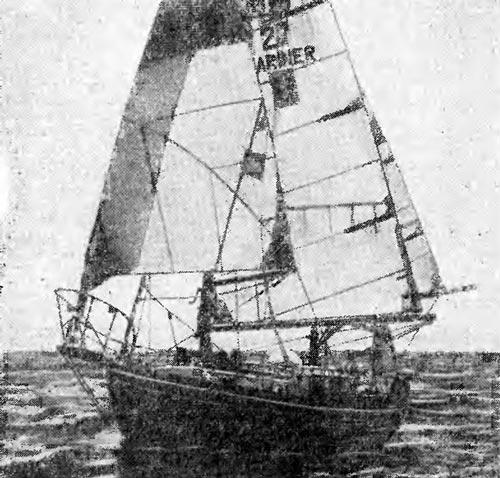 «Си Шарп-II» в океане. Источник: barque.ru