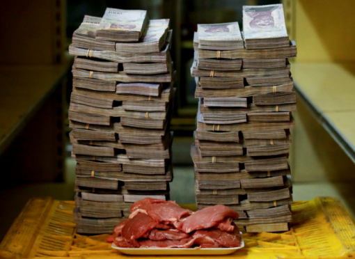 Инфляция в Венесуэле может достичь 1 000 000%