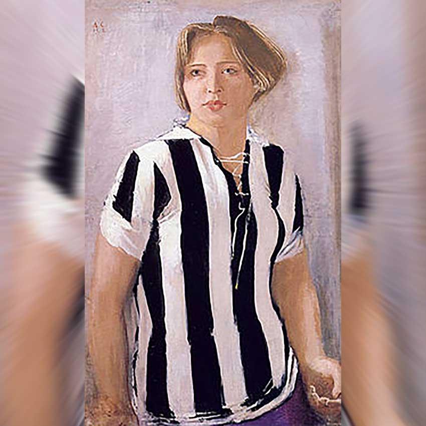 А. Самохвалов «Девушка в футболке», 1932 год