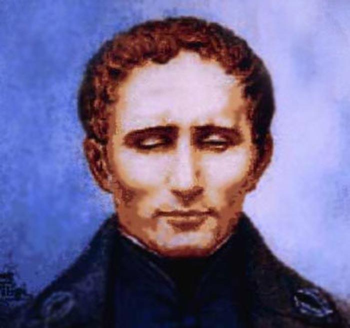 Луи Брайль, подаривший миру шрифт и нотопись для слепых. Источник: wikimedia