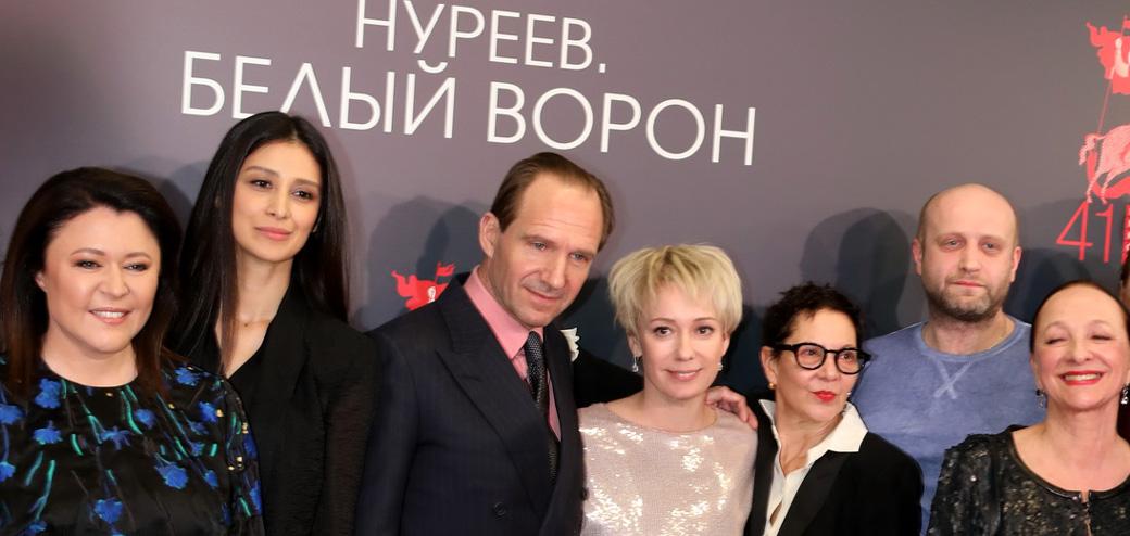 Премьера фильма «Нуреев. Белый ворон»