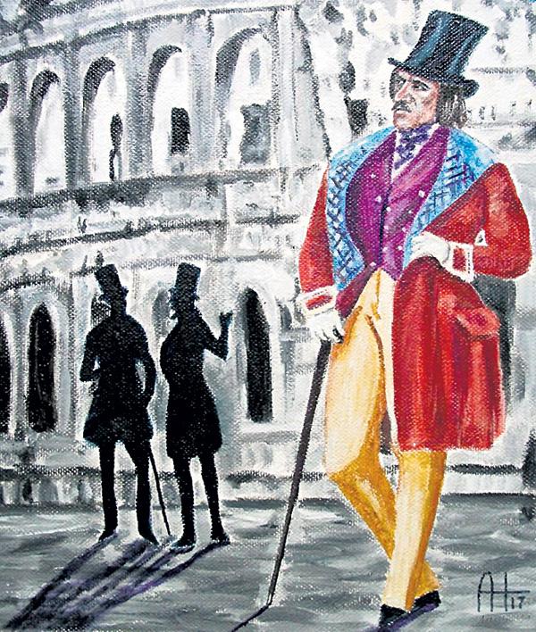 Николай Васильевич бродил по Риму и разговаривал с домами. А потом бежал к себе на улицу Сестина, 125 и брался за перо