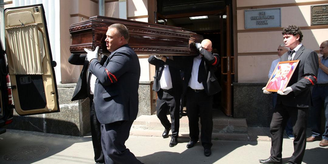 Прощание с Александром Кузнецовым