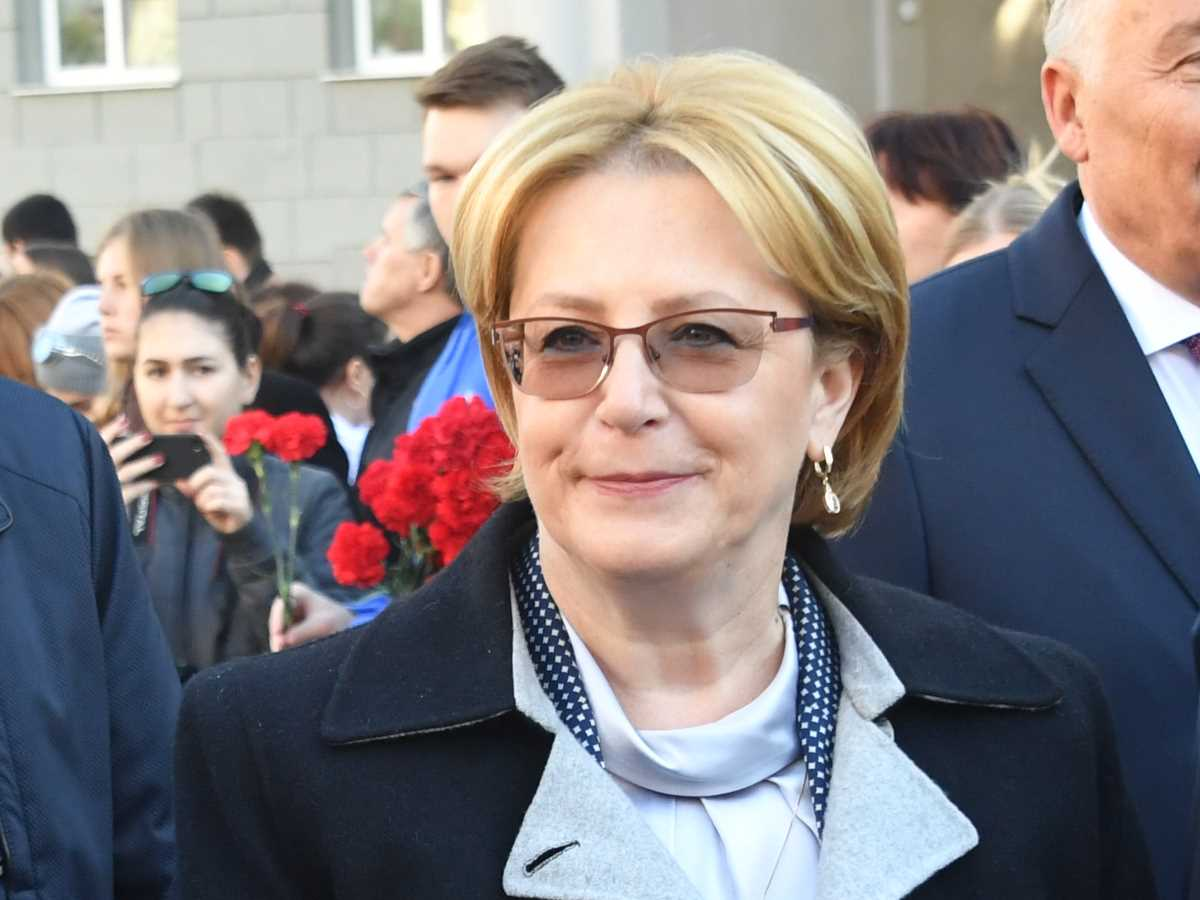 Вероника скворцова фото в правительстве