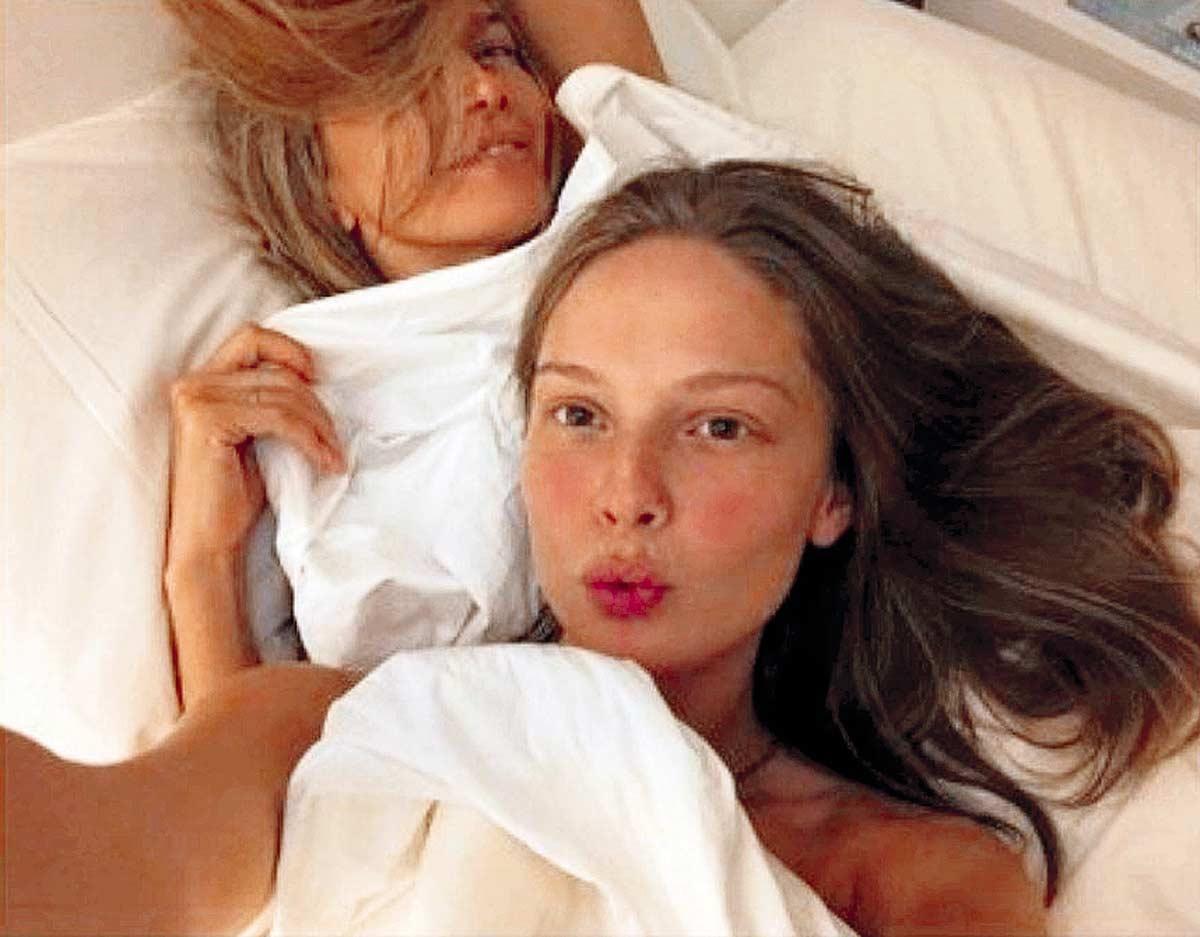 Ханна ХМЕЛЕВА в постели с БРЕЖНЕВОЙ