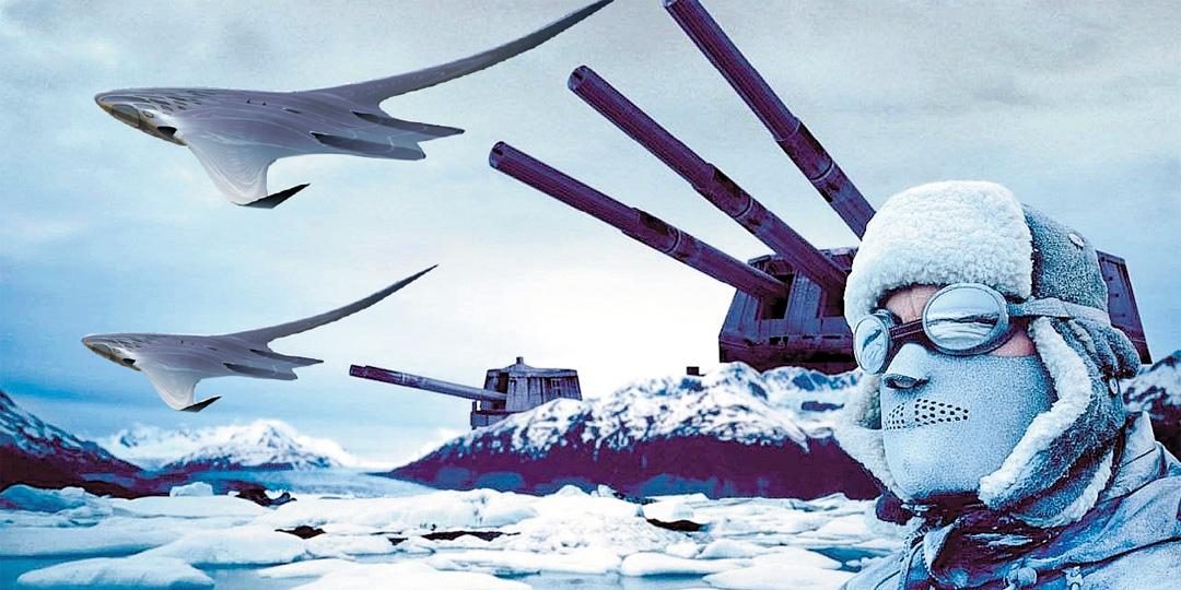 За Южный материк сверхдержавы будут сражаться самым современным оружием