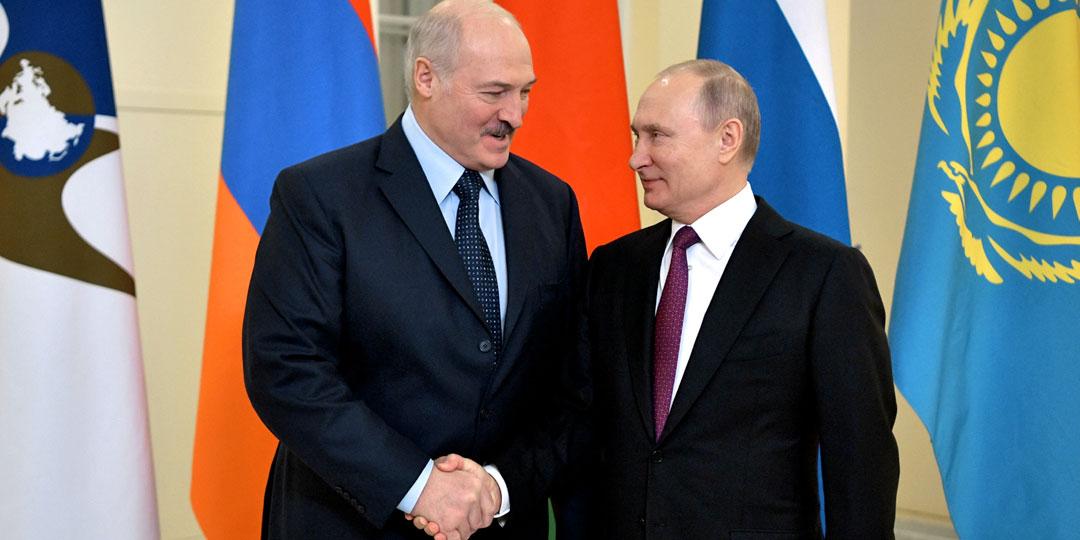 Александр Лукашенко заручился поддержкой российского президента. Фото: © РИА «Новости»
