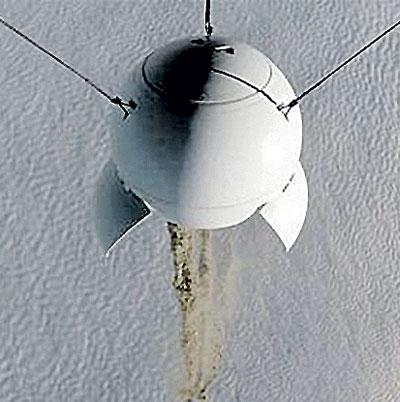 Зонд с прахом долетит до стратосферы. Фото: ritual.ru