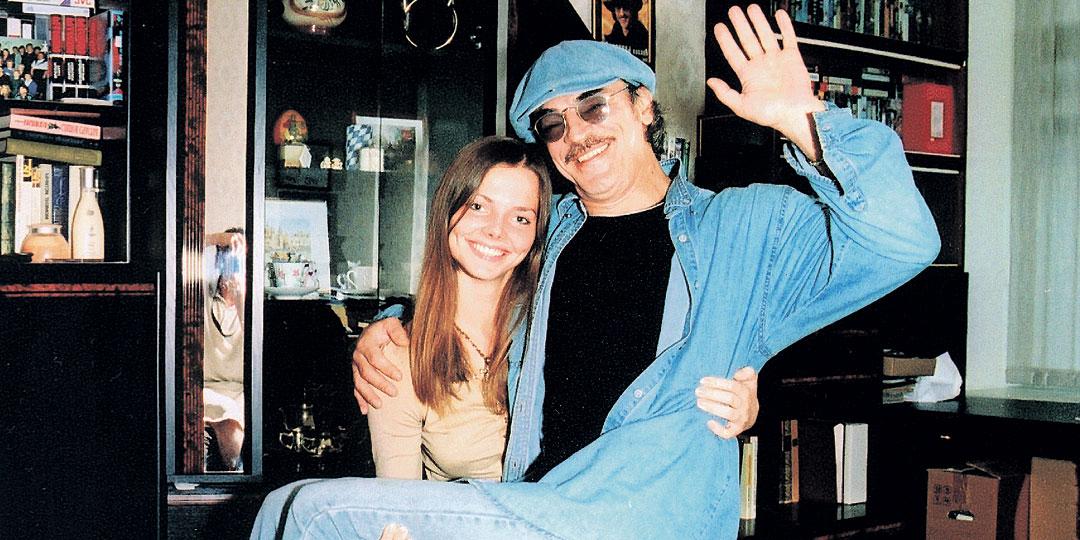 Елизавета Боярская с папой. Фото: Personastars.com